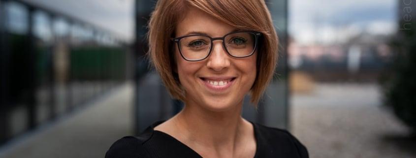 Business Portrait Veronika - Bewerbungsbild Salzburg